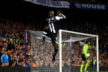 Papiss Demba Cisse was a major force in Newcastle's late season run