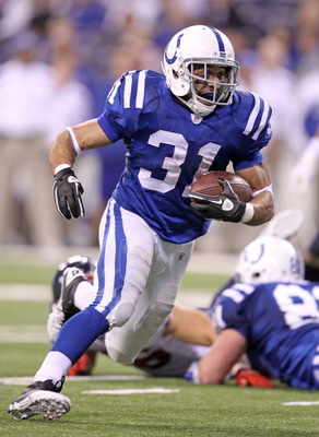 Donald Brown emerged as the deadliest back in the Colts backfield in 2011.