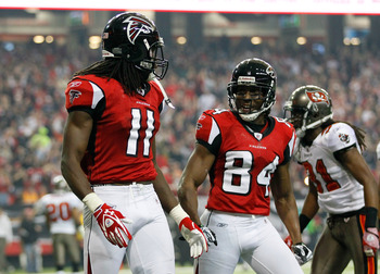 Julio Jones and Roddy White could be the best wide receiver tandem in the NFL.