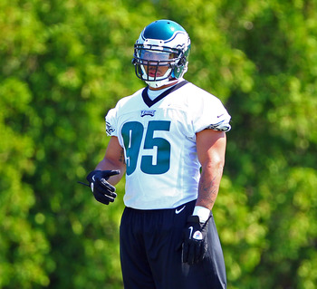 Second-round pick Mychal Kendricks at the Eagles' minicamp.