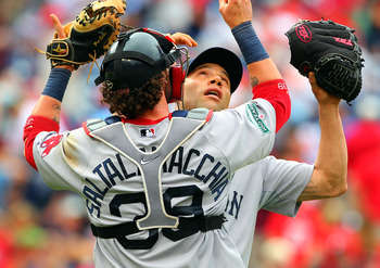 Saltalamacchia has played a key role in the turnaround of the Sox pitchers.
