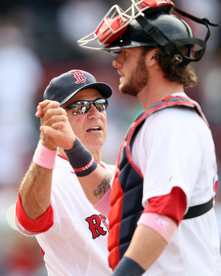 Saltalamacchia's steady production has been key for the erratic Sox this season.