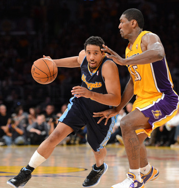 Andre Miller was a match-up problem for the Lakers in the playoffs.