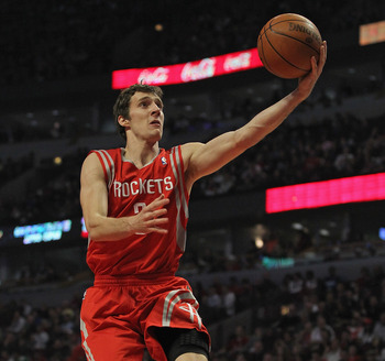 Goran Dragic soared when he filled in as a starter for Houston this season.