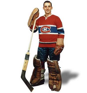 Jacques Plante (courtesy legendsofhockey.net)