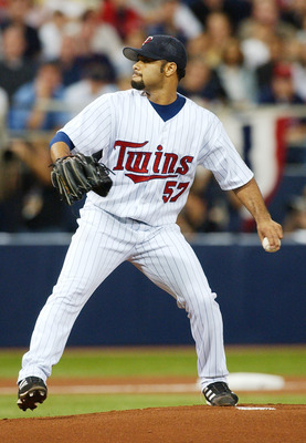 Santana carried the Twins in 2004.
