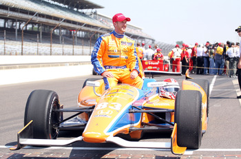 Charlie Kimball became the first diabetic ever to finish the Indy 500 in 2011