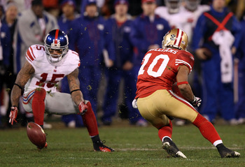 Kyle Williams' botched punt play cost the 49ers the NFC title game
