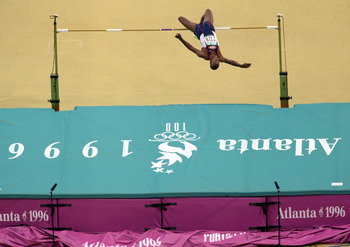 Charles Austin is the last American to win the high jump.