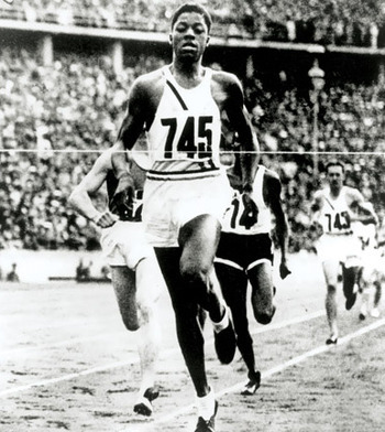Woodruff had to take a big risk to win his gold. (University of Pittsburgh photo)