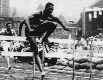 Calhoun was a double-winner of the 110 hurdles. (Getty Images)