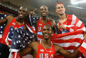 The 4x400 men's relay has been dominated by the United States.