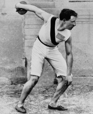 Robert Garrett's third attempt caused jaws to drop at the inaugural Olympics.