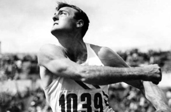 Bob Mathias was just a teenager when he won his first decathlon. (Getty Images)