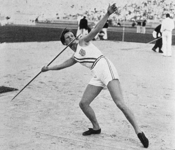 Babe Zaharias left her mark on the L.A. Coliseum in 1932.