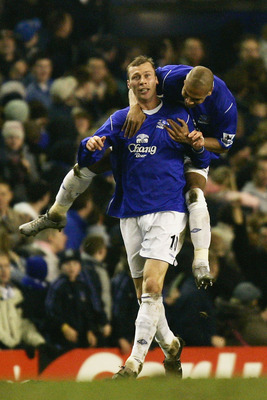 Duncan Ferguson is a legend at Everton.
