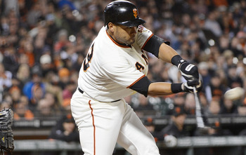 Melky Cabrera is leading all of baseball in hits.