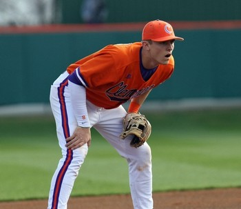 Clemson 3B Richie Shaffer // Courtesy of orangeupdate.com