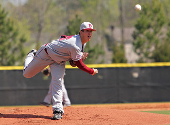RHP Lucas Sims // Courtesy of maxpreps.com