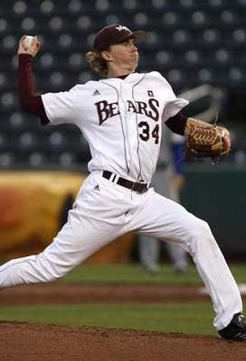 Missouri State RHP Pierce Johnson // Courtesy of redraiders.com