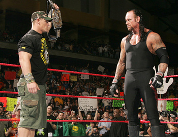 John Cena and The Undertaker are two of the biggest names of all-time, but they haven't feuded since 2003. This could be the main event of WrestleMania 29 and I believe it's the number one feud that the WWE Universe wants to see.