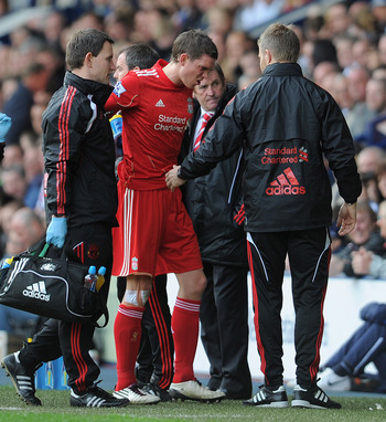 Daniel Agger has been struggled with injuries throughout his time at Liverpool.