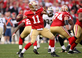 San Francisco 49ers' Alex Smith