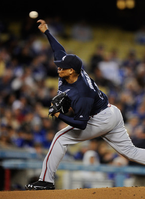 Jair Jurrjens is trying to get his old form back in the minors.