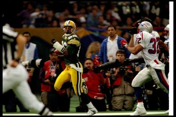 Freeman will always be remembered for his TD catch in Super Bowl XXXI