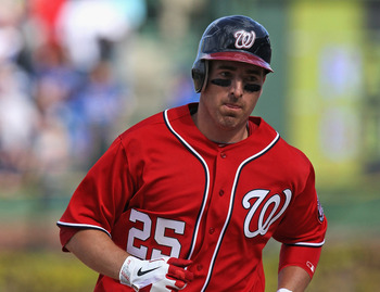 Adam LaRoche continues to get big hits for the Nationals.