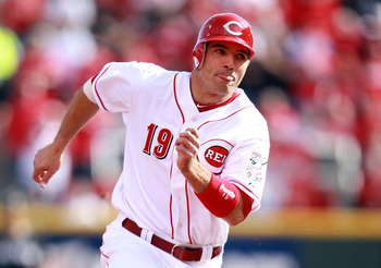 Joey Votto ranks fifth in the NL in OPS.