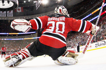 Martin Brodeur might run out of gas in the finals.