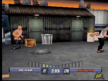 EA.com (How did David Flair end up in a video game?)