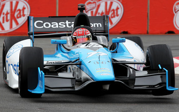 Simon Pagenaud should easily capture the 2012 Indycar Rookie of the Year award