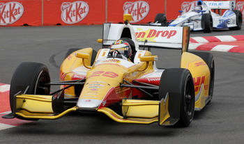 Ryan Hunter-Reay is on the brink of his best season in Indycar