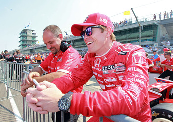 Scott Dixon has been the best Ganassi driver all through 2012