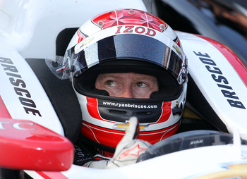 Ryan Briscoe should join his Penske teammates at the top of the standings before season's end