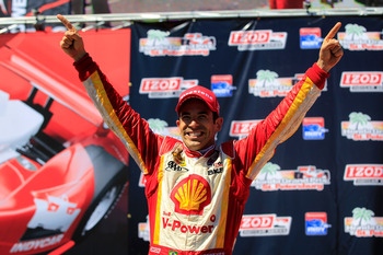 Castroneves shoud earn a few more victories before the 2012 season is up