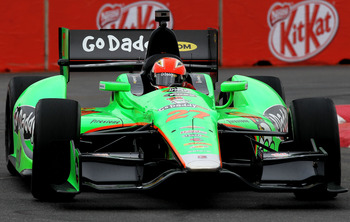 James Hinchcliffe has shown no signs of a sophomore slump in 2012