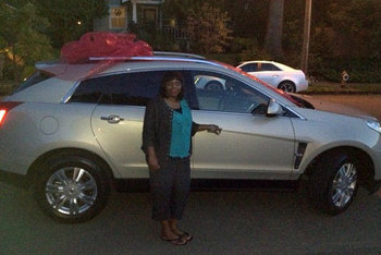 Terrence Jones spent his first paycheck on a car for his mother.