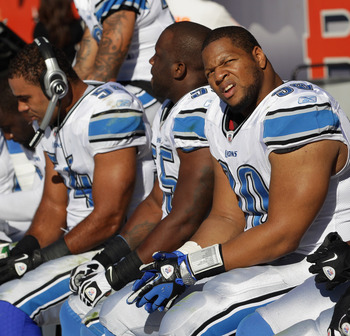 The Detroit Lions Run Defense was pathetic in 2012