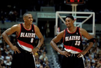 Steve Smith and Scottie Pippen
