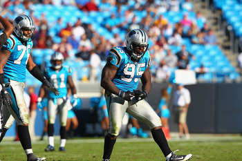 Charles Johnson needs to lead the Panthers' pass rush in 2012.