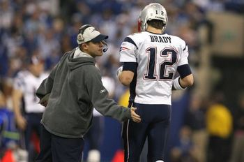 Photo of Brady and McDaniels via cbssports.com.