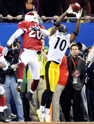 Super Bowl XLIII MVP: His game-winning catch is one of the greatest plays of all time.