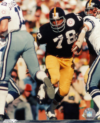 Mad Dog was the most intense member of the Steel Curtain.