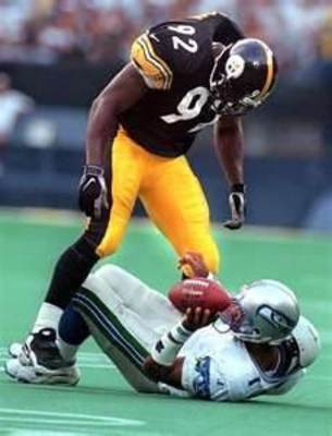 Gildon is the Steelers all-time leader in sacks.