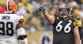 A lock for Canton, Fanaca is by far the greatest guard in Steeler history.