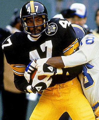 Hall of Fame Inductee in 1989; Blount was named the 1975 Defensive Player of the Year and had 57 career INTs.