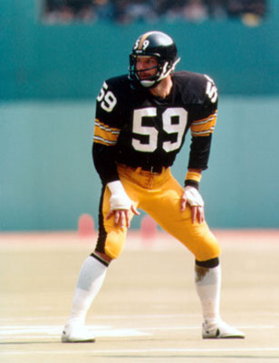 Hall of Fame Inductee in 1988; Ham is the greatest 4-3 OLB in NFL history.